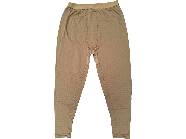 USMC Genuine Issue Coyote Brown Grid Fleece Under Pants