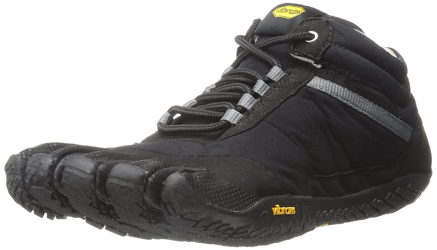 Black Vibram FiveFingers Men's Trek Ascent Insulated Multisport Outdoor shoes