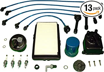 [SCHEMATICS_43NM]  Amazon.com: Tune Up Kit Replacement For Honda Accord LX DX EX 1992 1993 oil  air fuel and pcv filters, Japanese distributor cap and ignition rotor NGK  wires and NGK spark plugs: Automotive | 1993 Honda Accord Fuel Filter Replacement |  | Amazon.com