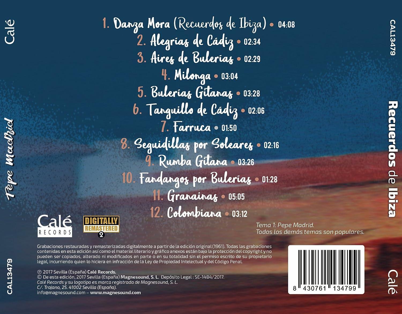 Recuerdos de Ibiza: Pepe Madrid: Amazon.es: Música