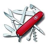 Victorinox Huntsman Pocket Knife - Red