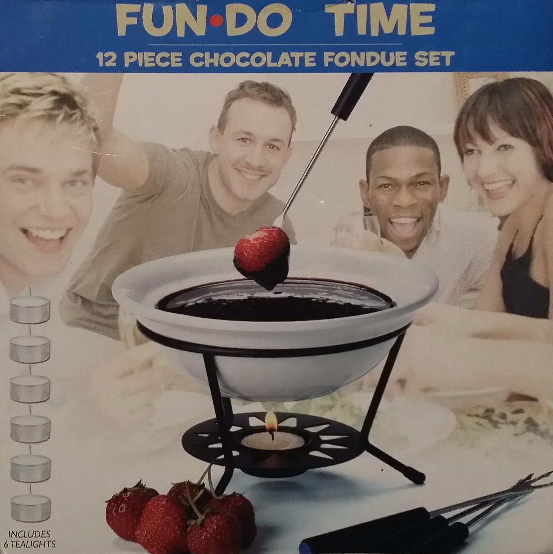 Fun Do Time 12 Piece Chocolate Fondue Set Fun-Do Time