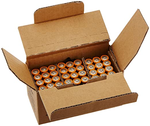 AmazonBasics AAA Performance Alkaline Batteries(36 Count)