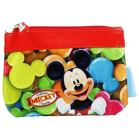 Disney Mickey Candy - Monedero Pequeño de Niños - con Cierre ...