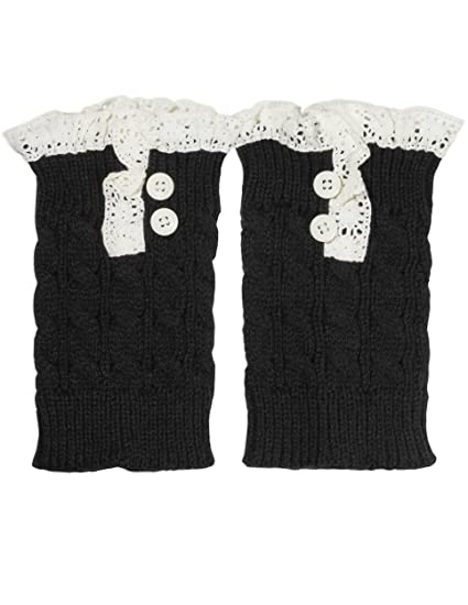 66ab6052f7e50 Premium Quality Knit Boot Cuffs Toppers in Gift Bag ♥ Fiorelle Boutique  Brand