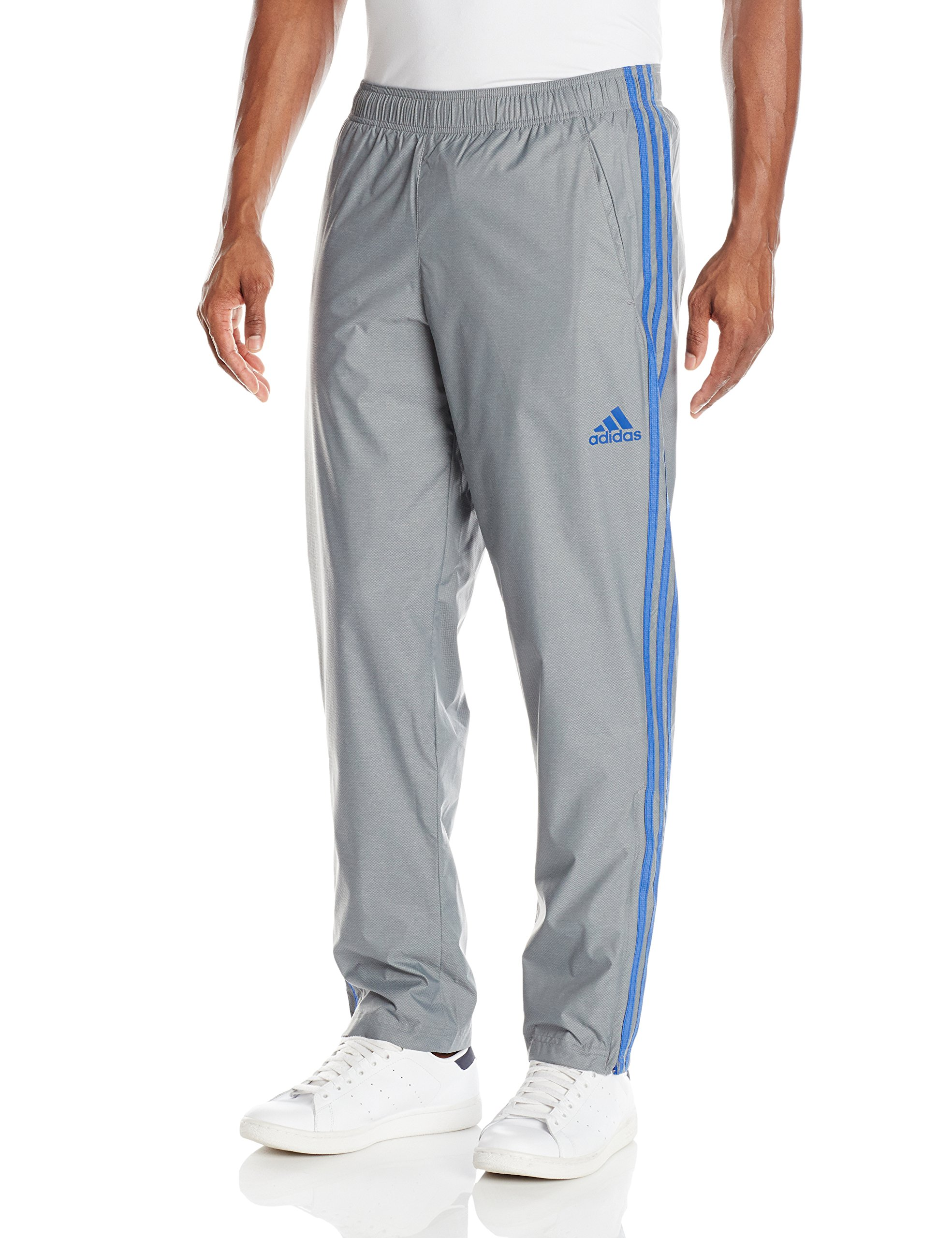 adidas Men's Athletics Essential Pants, Vista Grey/Collegiate Royal, XX-Large by adidas