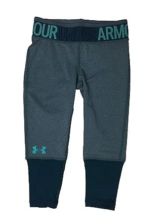 83d2e75b9ed035 Amazon.com: Under Armour Girl`s Jacquard Wordmark Leggings: Clothing