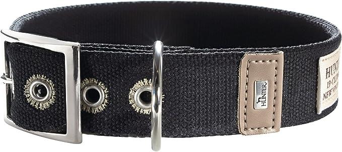 Image of Hunter New Orleans Collar de algodón, Grande, Negro