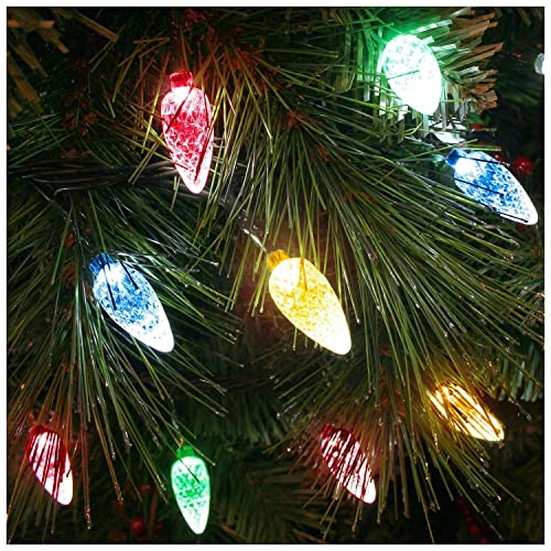 Big W White Christmas Tree: Retro Christmas Lights: Amazon.co.uk