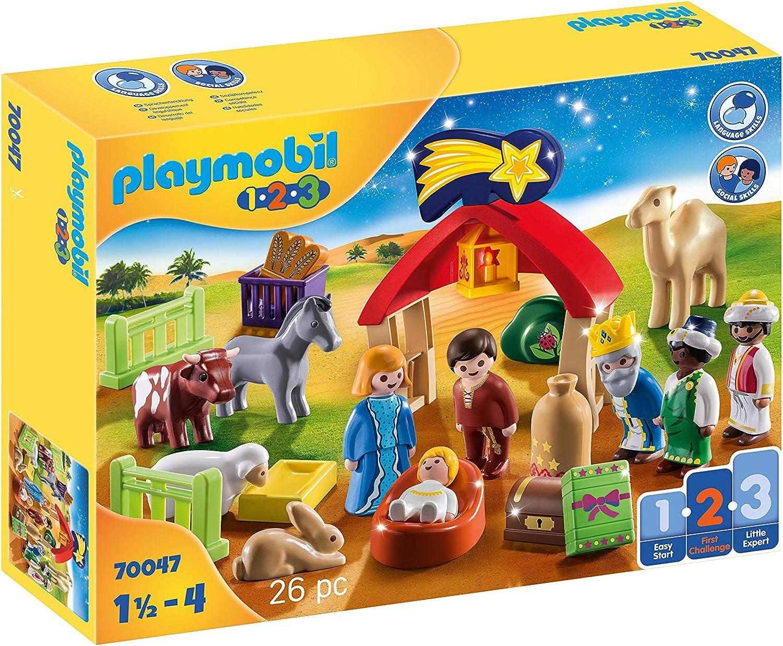 Playmobil - Mi Primer Belén, Juguete, Color Multicolor, 70047