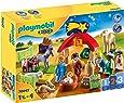 Playmobil- 1.2.3 Mi Primer Belén Juego con Accesorios, Multicolor (70047)