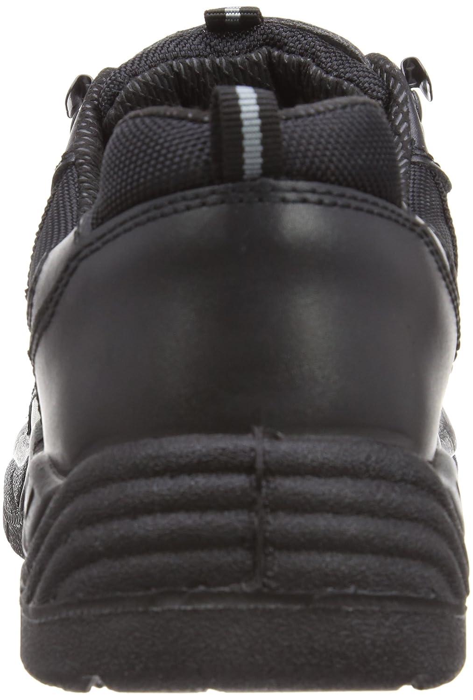 Dickies Sicherheitsturnschuh Super Safety Stockton S1-P schwarz (schwarz) BK 6, FA13335 Nero (schwarz) schwarz 5e2d66