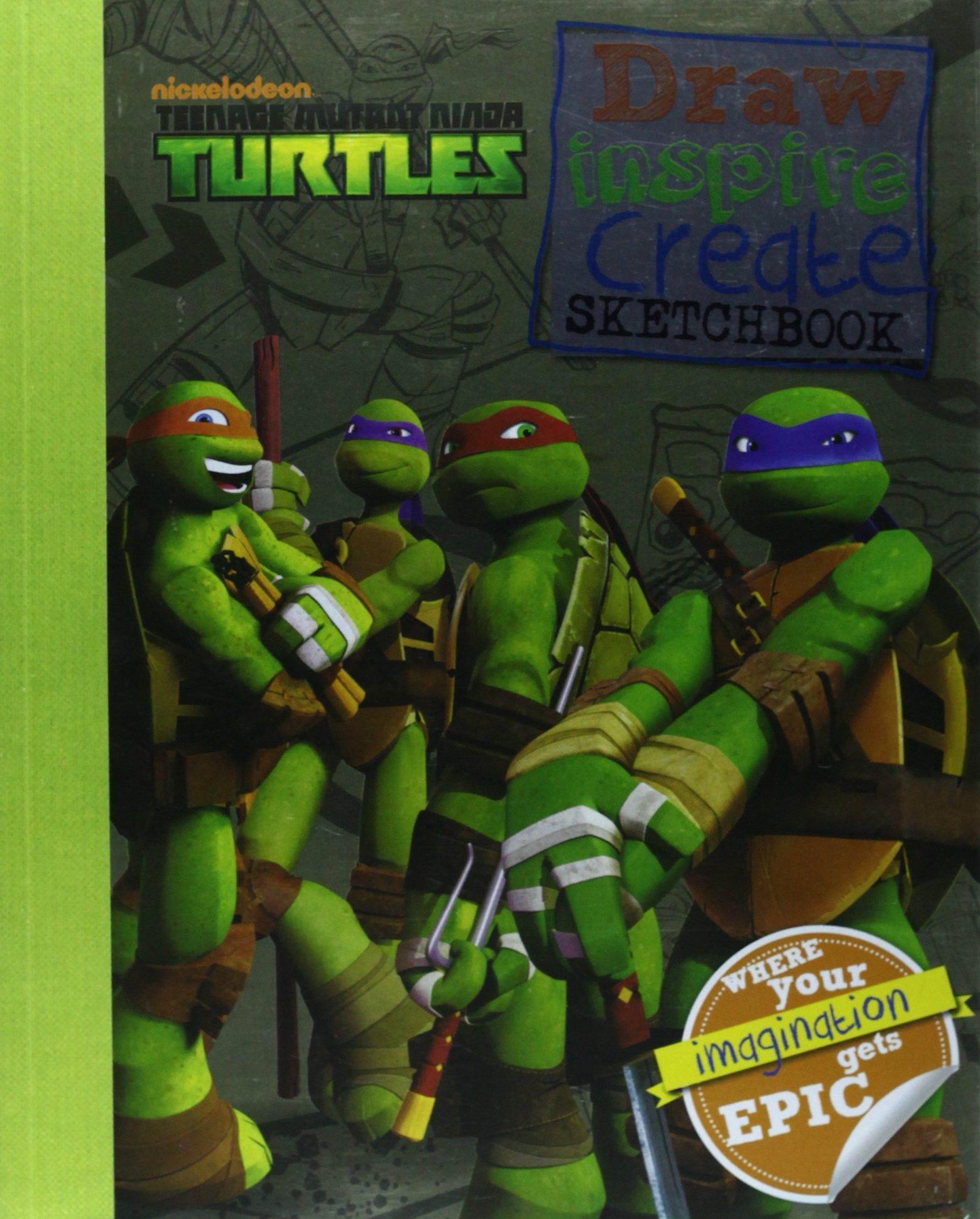 Nickelodeon Teenage Mutant Ninja Turtles Draw, Inspire ...