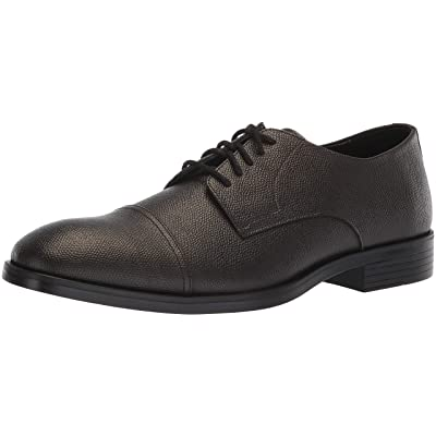 Calvin Klein Men's Conner Small Tumbled Leather Oxford | Oxfords