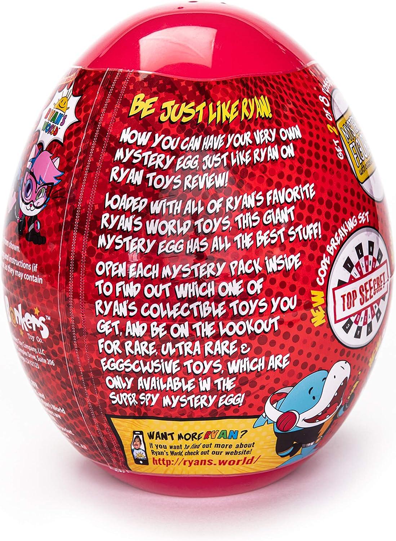 Exclusive Ryan/'s World Super Spy Ryan/'s Mega Micro Egg