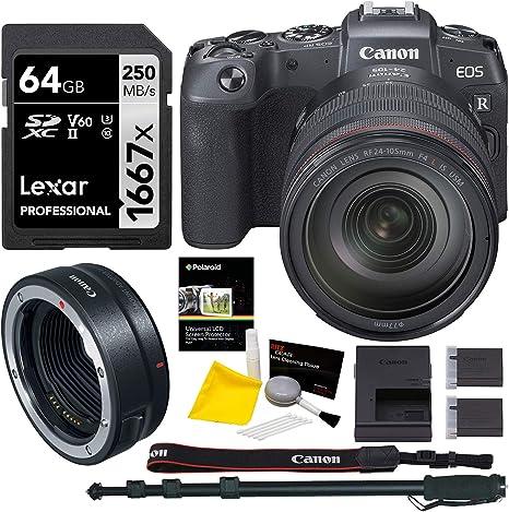 Canon EOS RP sin Espejo cámara RF 24-105 es USM Lente Bundle ...
