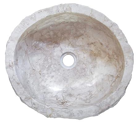 Biggi Moda Mare N926 47x42 H15 Lavandino In Pietra Di Marmo Bianco