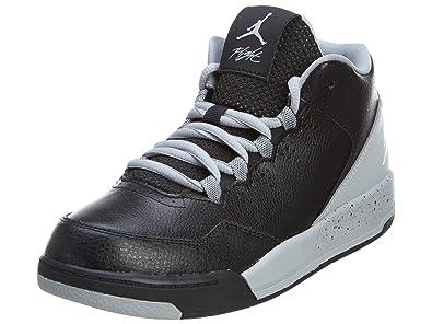 new arrivals d83fd 4d221 Image Unavailable. Image not available for. Color  Nike Jordan Flight  Origin 2 (PS) 705161-005 Wolf Grey   Black