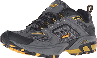 Yellow Ankle-High Running Shoe - 8M