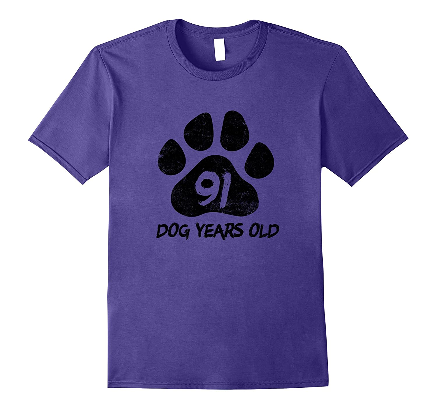 91 Dog Years Old Funny 13th Birthday T-Shirt Teenager Gift-4LVS