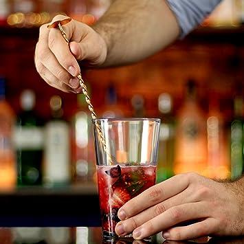 bar@drinkstuff Cuill/ère /à M/élanger Torsad/ée 28 cm
