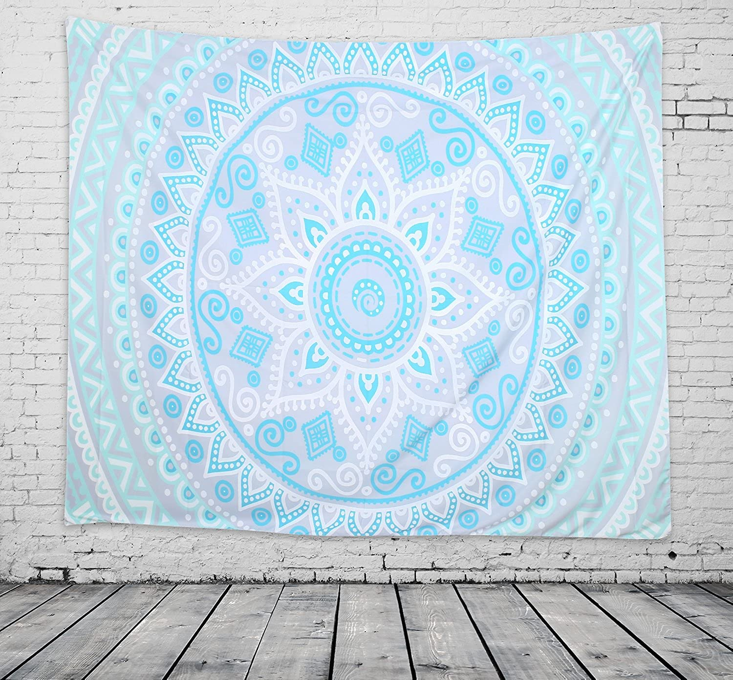 Lvtree Tapestry Wall Hanging Wall Tapestry Blanket Psychedelic 3D Printing with Art Nature Home Decorations