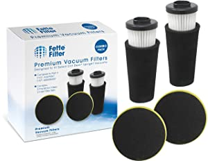 Fette Filter - Pre Motor Odor Trapping Filter & Inlet Filter Set Compatible with Dirt Devil Endura. (F112 & F-97 2-Pack)