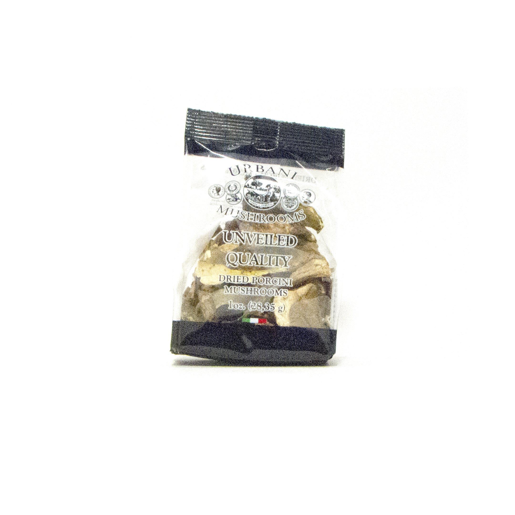 URBANI Dried Porcini Mushrooms, 1 Ounce