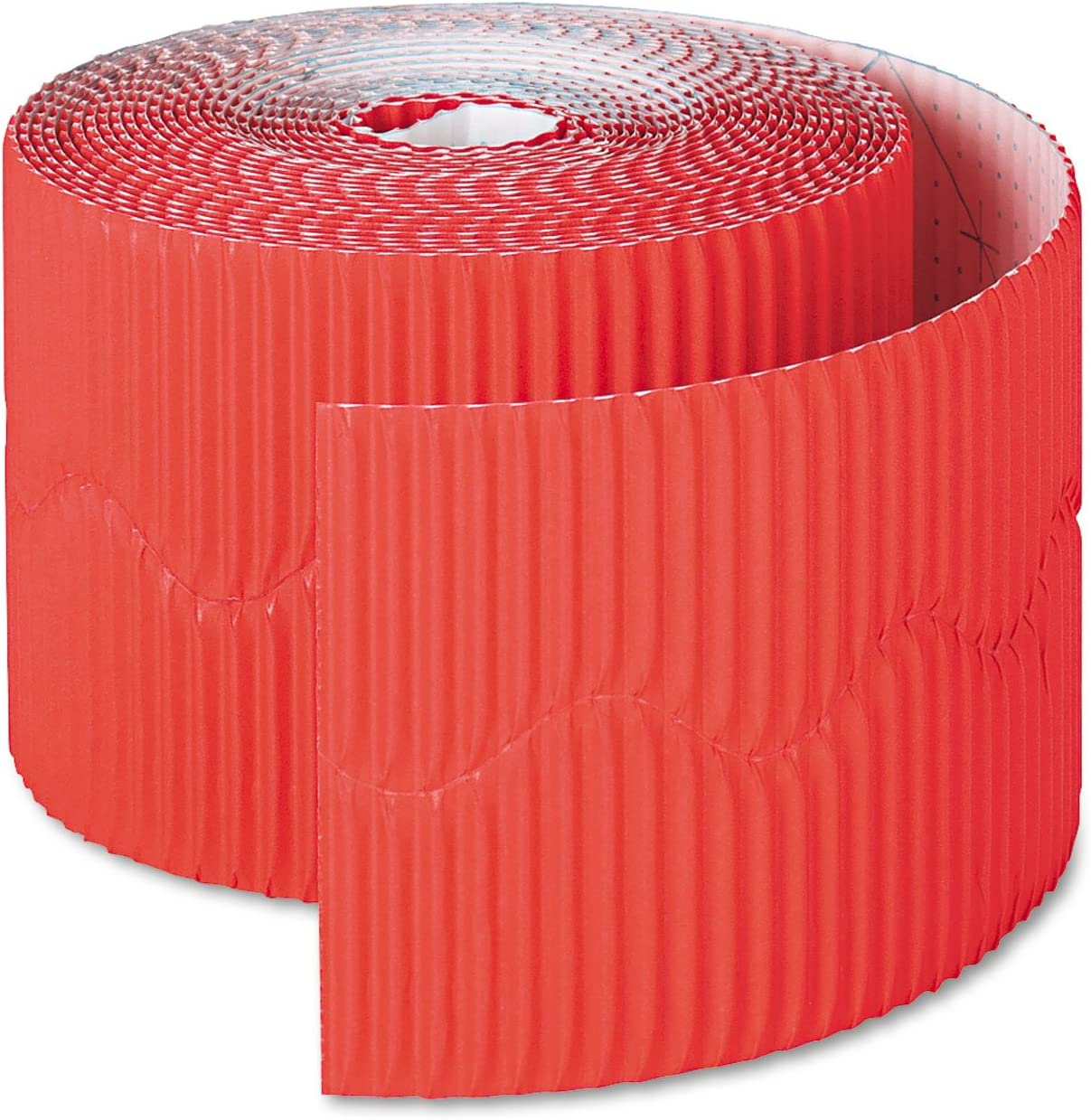 Bordette 2 1//4 X 50Ft Flame Red
