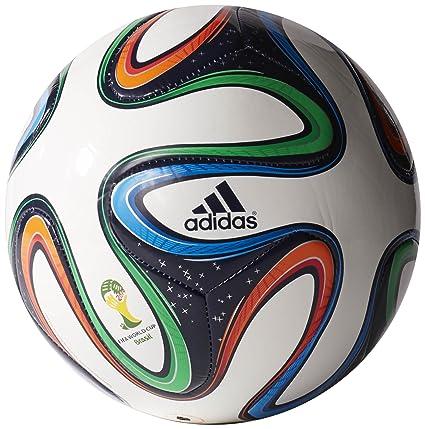 1825d97cd Amazon.com : adidas Brazuca FIFA 2014 World Cup Top Glider Soccer ...
