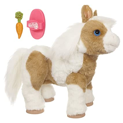 d7ac06039327 Amazon.com: Furreal Friends Baby Butterscotch My Magical Show Pony ...