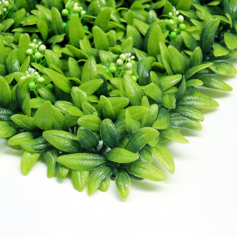 Uland 12 50 8 x 50 8 cm Künstlicher Efeu Hecken Platten Garten
