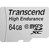 Transcend 高耐久 microSDXCカード MLCフラッシュ搭載 (ドライブレコーダー向けメモリ) 64GB Class10 TS64GUSDXC10V