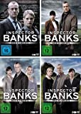 Inspector Banks - Mord in Yorkshire: Die komplette Staffel 1-4 im Set - Deutsche Originalware [8 DVDs]