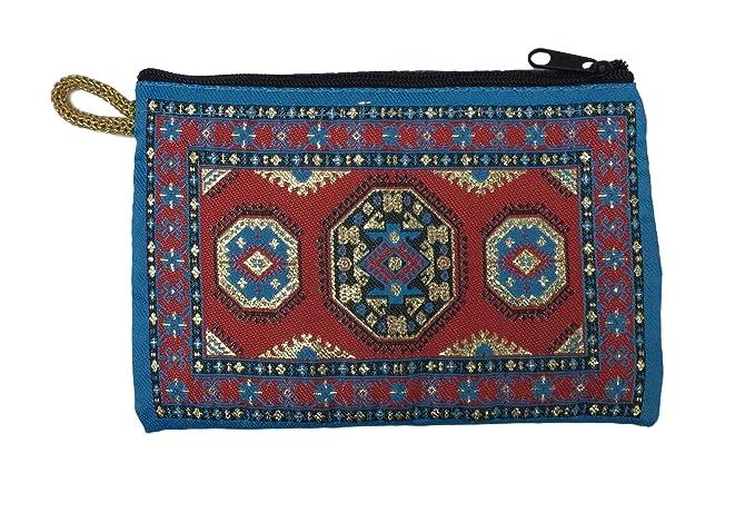 Equal Earth Tradicional monedero turco exótico alfombra ...