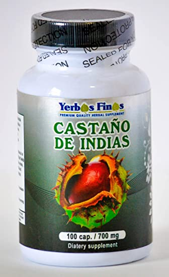 Yerbas Finas Castano de Indias 90 Cap/ 700mg Dietary Supplement