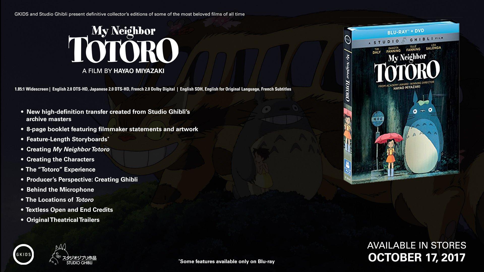 My Neighbor Totoro (Bluray/DVD Combo) [Blu-ray