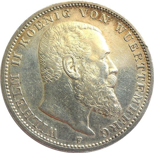 Silbermünze 3 Mark 1908 F Erhaltung Ss Silber Münze Wilhelm