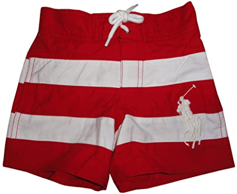 ... polo ralph lauren toddler boys 2t 4t big pony swim shorts