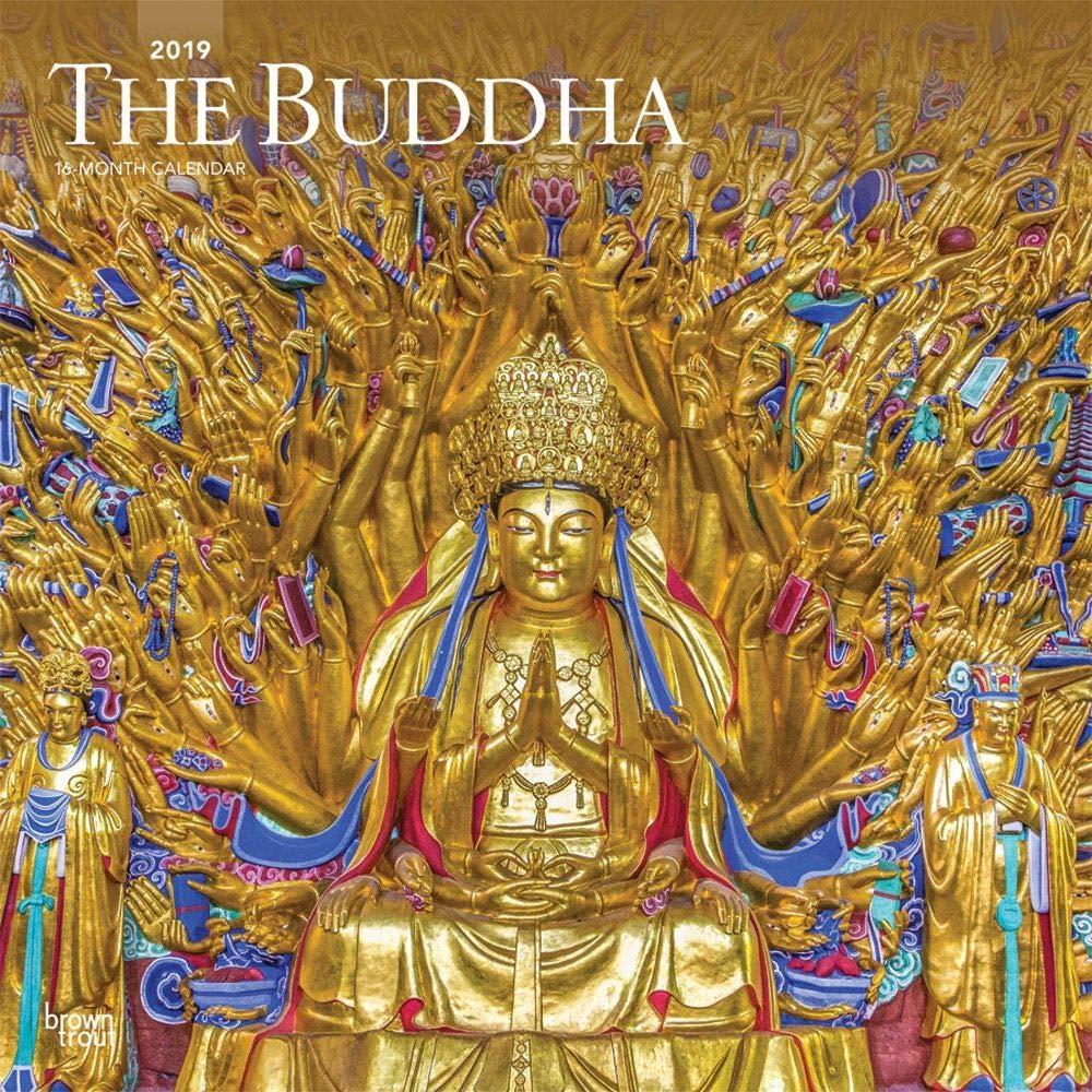 Calendars ブッダ壁カレンダー 東部宗教  Buddha Wall Calendar B07GZYX5D2