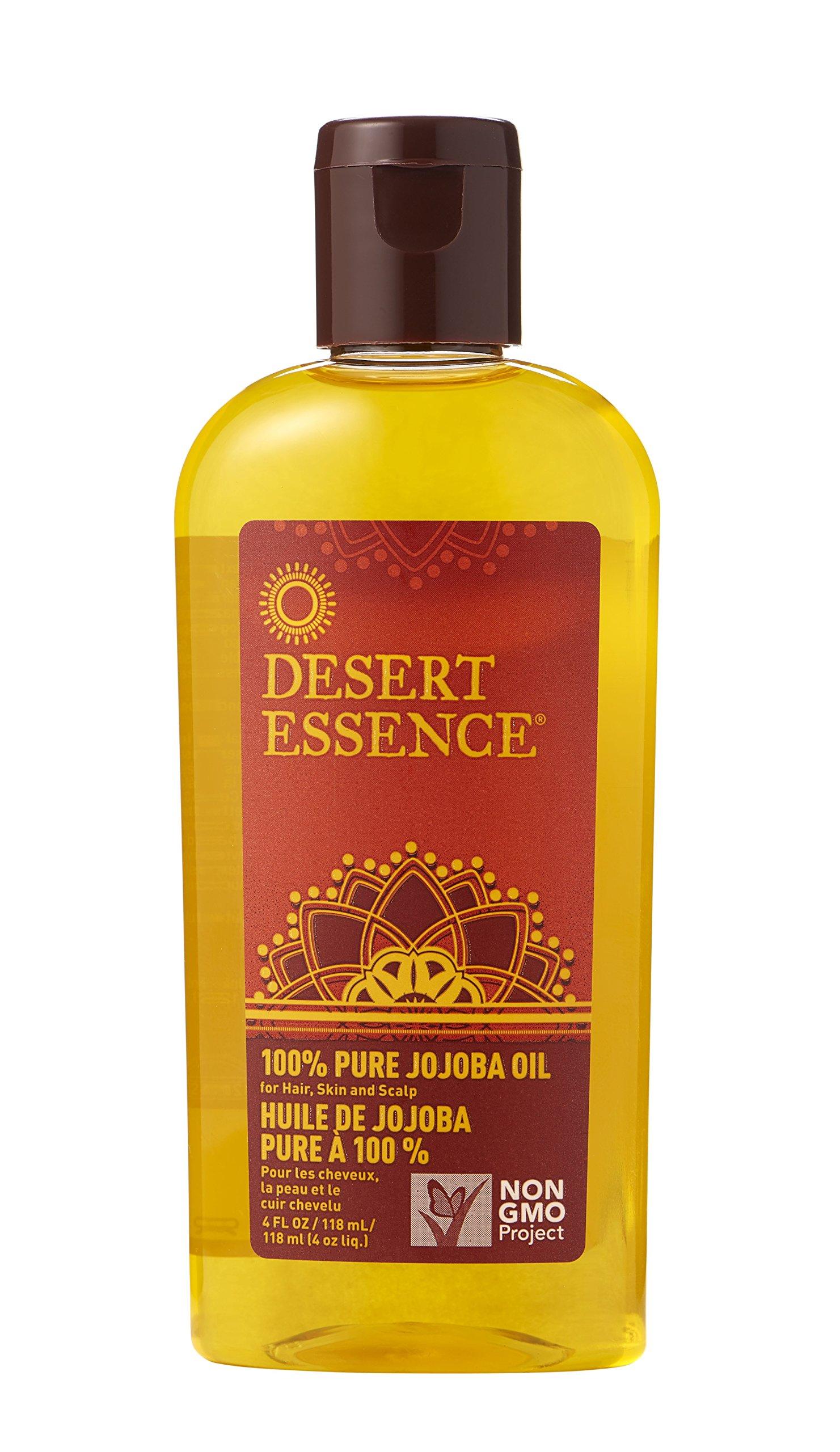 Amazon.com : Desert Essence 100% Pure Jojoba Oil (2pk) 4fl oz : Body Oils :  Beauty