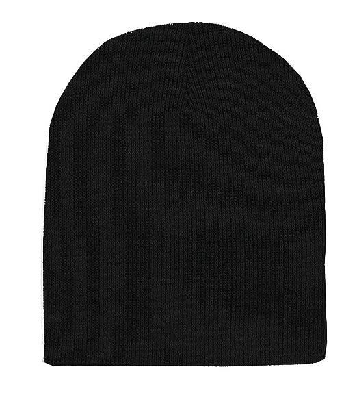 5fe3e5b5d04 Magic Short Beanie - Black OSFM at Amazon Men s Clothing store