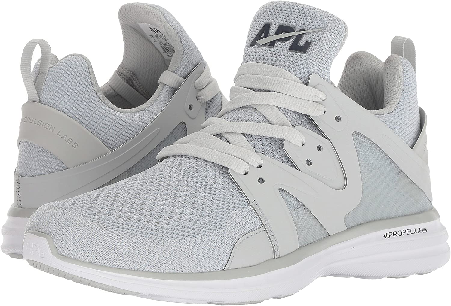 APL: Athletic Propulsion Labs Women's Ascend Sneakers B07BH42DM7 6.5 M US|Grey Glow/Midnight