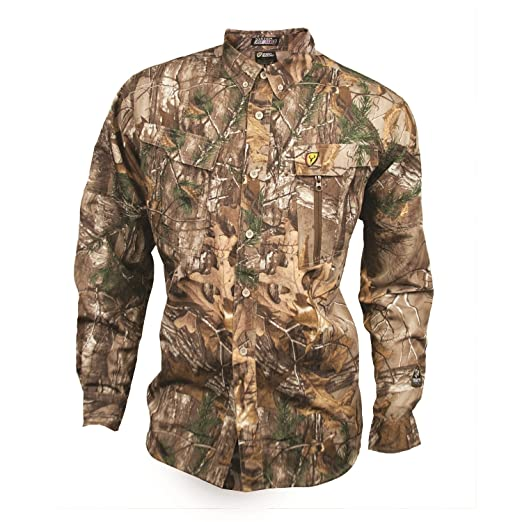 09a458e5673a2 Scent Blocker Trinity Featherlite Shirt, Mossy Oak Break-Up Country,  Medium. Roll over image to zoom in. Robinson Outdoor Products