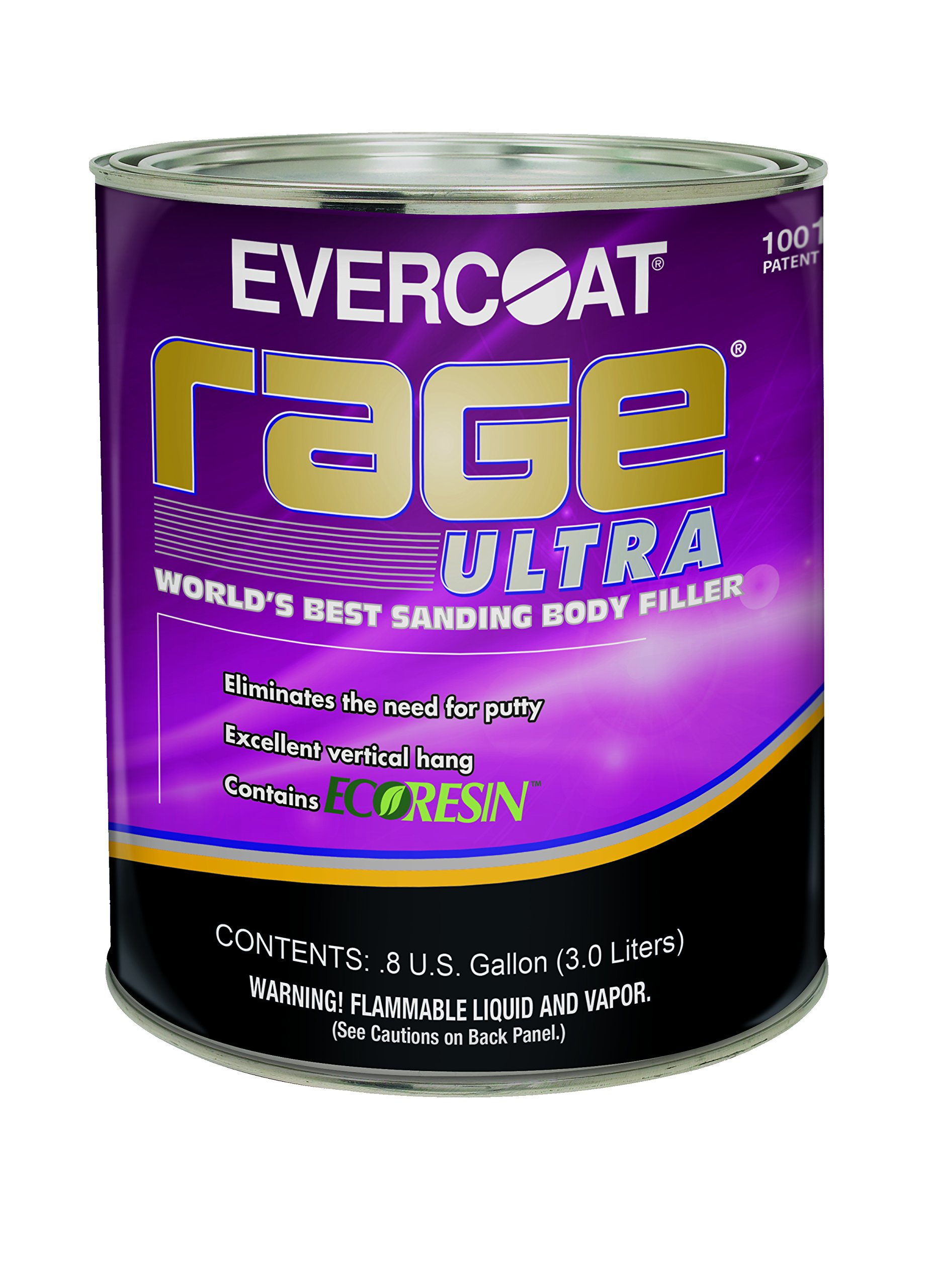 Evercoat 125 Rage Ultra Body Filler - 0.8 Gallon by Evercoat (Image #1)