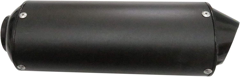 JEM/&JULES 28mm Black Exhaust Pipe Muffler Clamp for 50cc 110 125cc Quad Dirt Pit Bike ATV