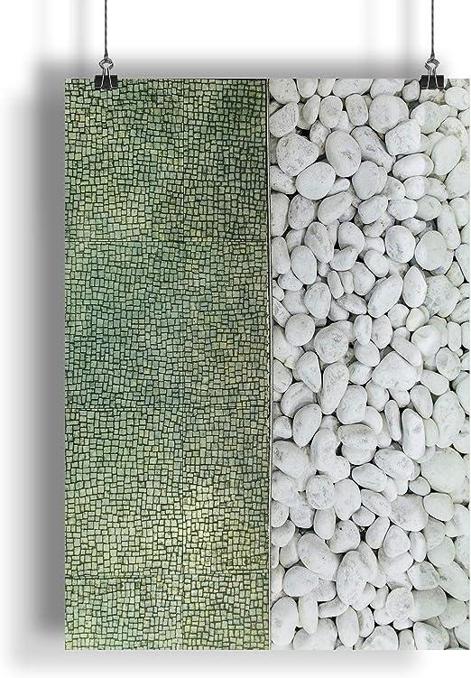 INNOGLEN Piedras Blancas, cicatrizarse A0 A1 A2 A3 A4 Poster de Fotos Satinado a2093h: Amazon.es: Hogar