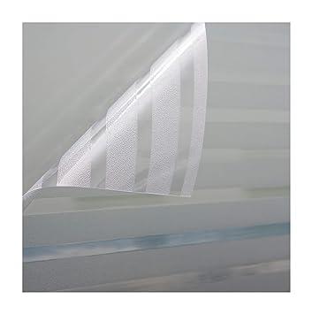 Autocollant Film Pour Fenêtre Verre Dépoli Motif Strip Fenêtre