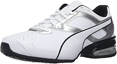 TAZON 6 FM - Trainings-/Fitnessschuh - puma white/puma black/puma silver m4terJfD