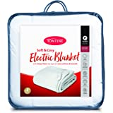 Tontine T9020 Sherpa Electric Blanket,King Bed